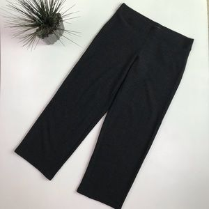 Eileen Fisher 100% Wool Gray Straight Pants